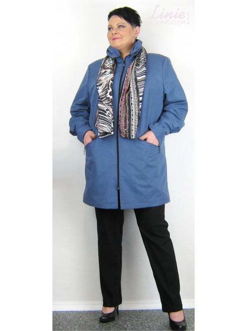 Jarní kabátek+hedvábná šála