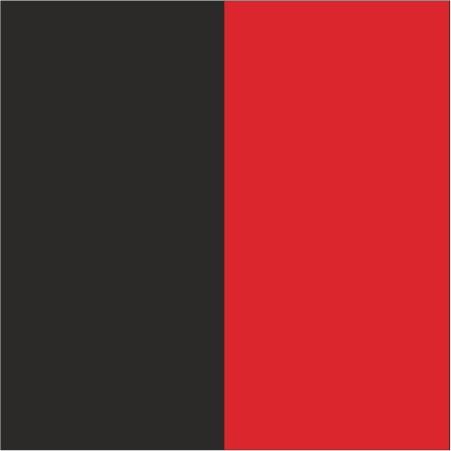 černá+červená