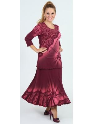 Matea sukně -ocelová