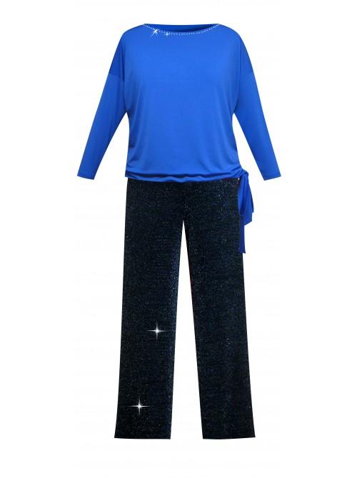 Lurex kalhoty