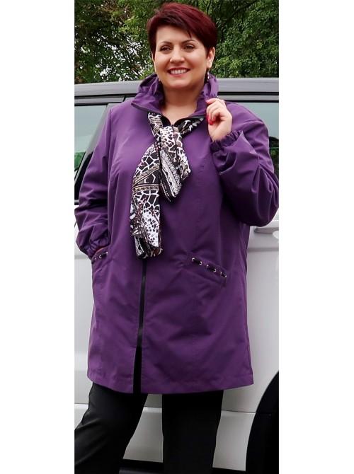 Sandra kabátek se šálou