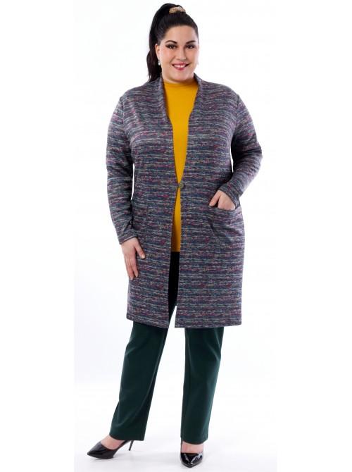 Kabátek-svetřík