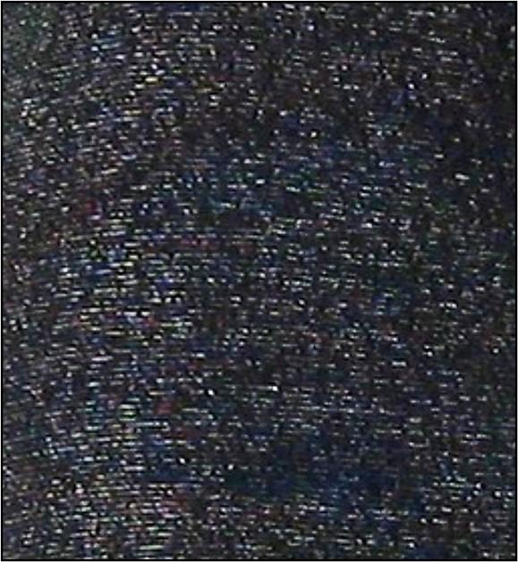 černá+stříbrná lurex